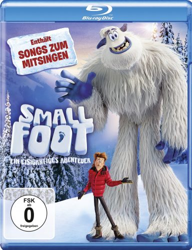 smallfoot - ein eisigartiges Abenteuer blu-ray review cover