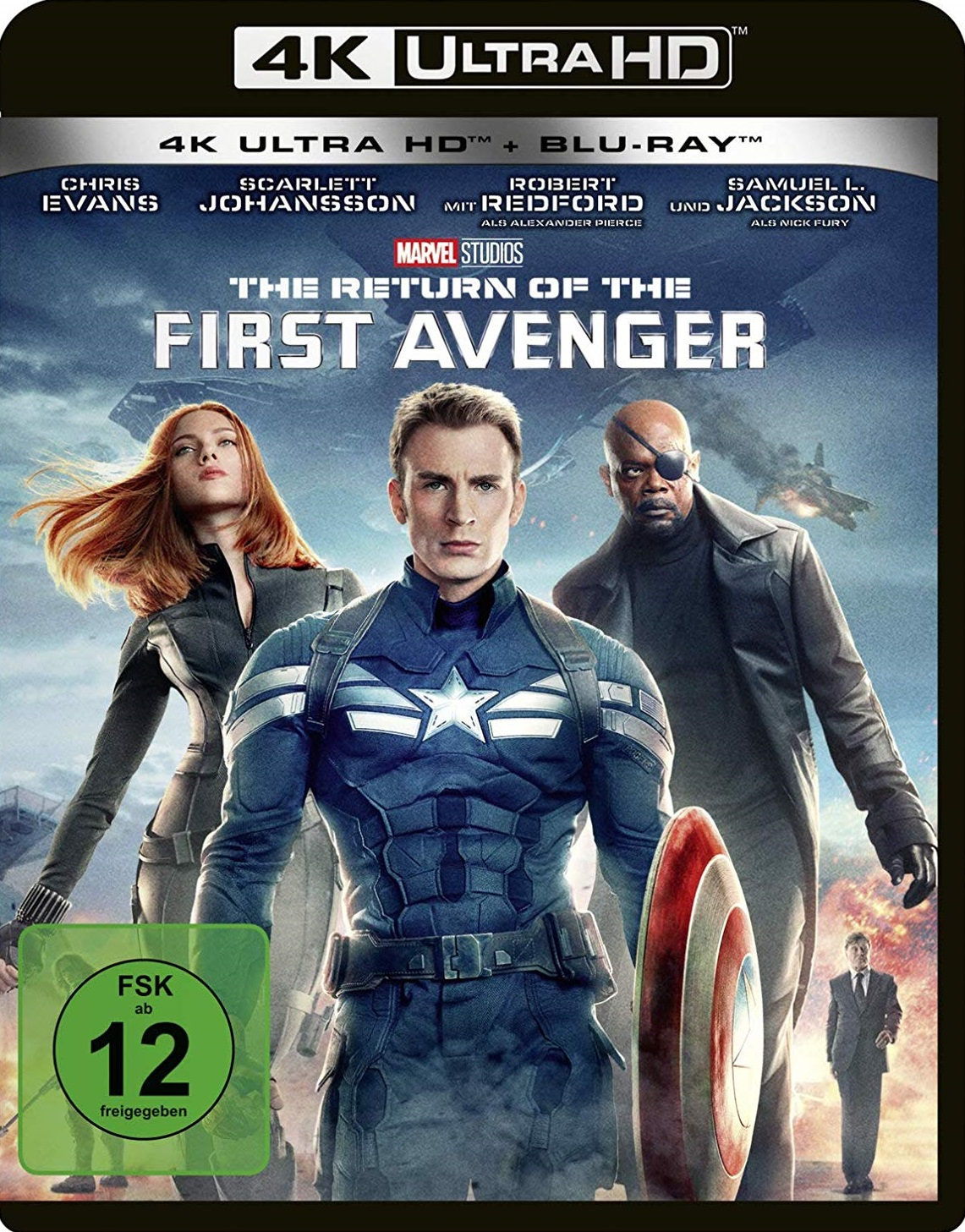 UHD Blu ray Kritik   Return of the First Avenger 20K Review ...