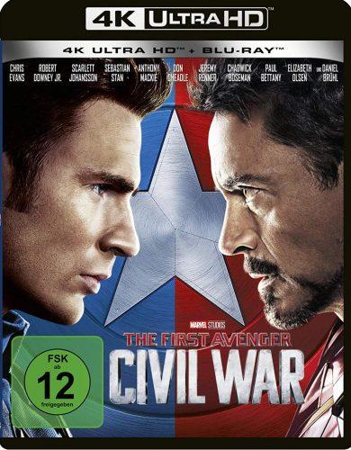 first avenger civil war 4k uhd