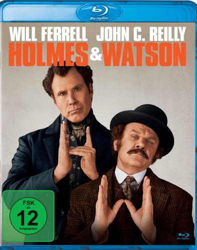 holmes und watson blu-ray review cover