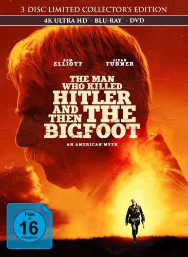 the man who killed hitler and then the bigfoot 4k uhd blu-ray review cover