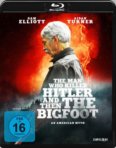 the man who killed hitler and then the bigfoot blu-ray review cover