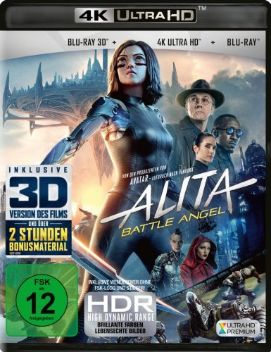 alita battle angel 4k uhd blu-ray review cover