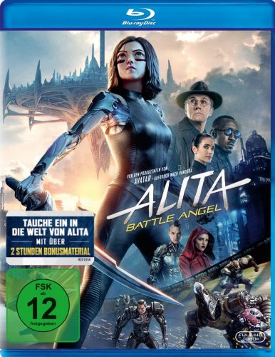 alita battle angel blu-ray review cover