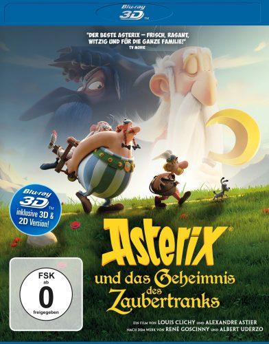 asterix und das geheimnis des zaubertranks 3d blu-ray review cover