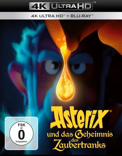 asterix und das geheimnis des zaubertranks 4k uhd blu-ray review cover