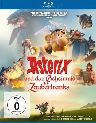 asterix und das geheimnis des zaubertranks blu-ray review cover