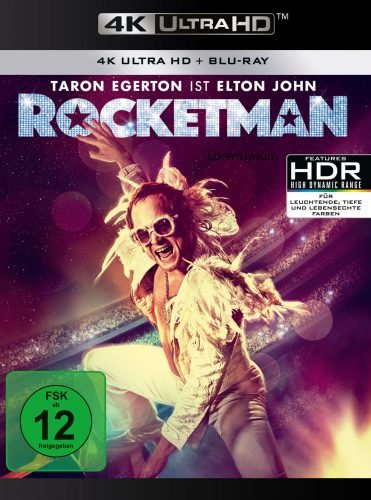 rocketman 4k uhd blu-ray review cover