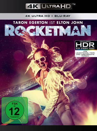 rocketman 4k uhd blu-ray review cover
