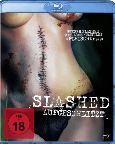 slashed - aufgeschlitzt blu-ray review cover