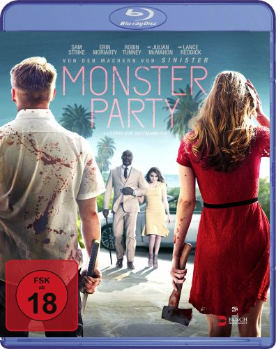 monster party blu-ray review cover