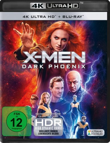 x-men dark pphoenix 4k uhd blu-ray review cover