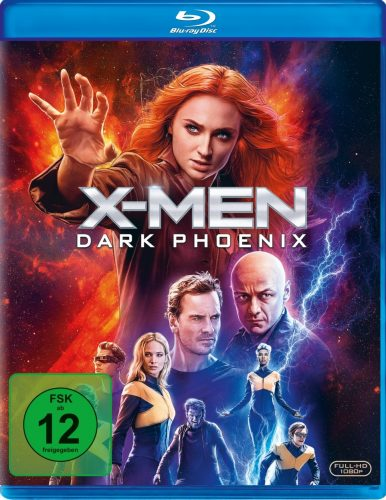 x-men dark phoenix blu-ray review cover