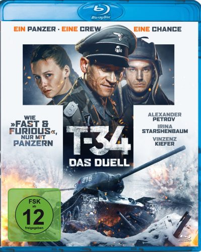 T-34 - das duell blu-ray review cover