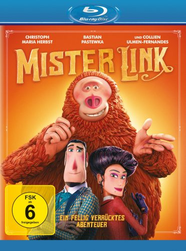 mr link ein fellig verrücktes abenteuer blu-ray review cover