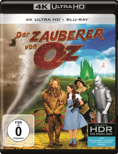 wizard of oz 4k uhd blu-ray review cover
