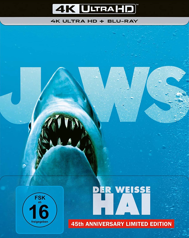 Uhd Blu Ray Kritik Der Weisse Hai 45th Edition 4k Review Rezension