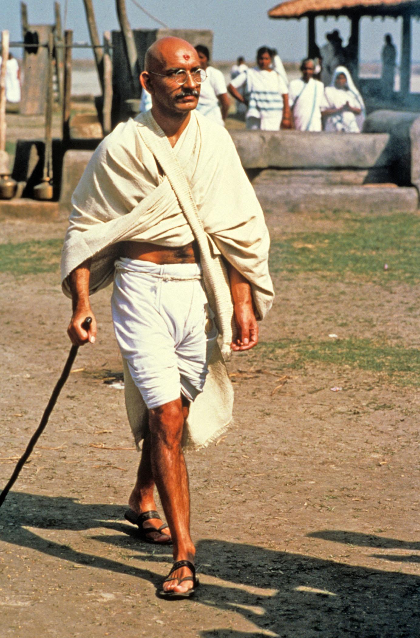 Gandhi Kritik